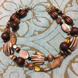"""Eye catching """"Zoo beads"""" Necklace"""